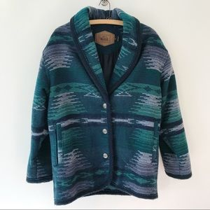Woolrich Vintage Southwestern Coat